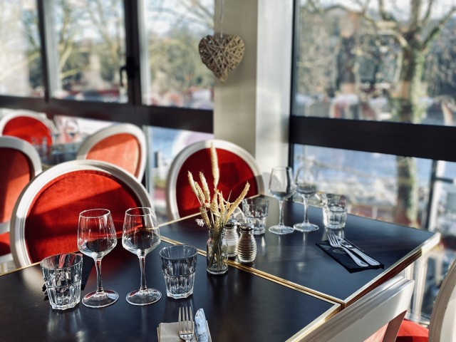 LA BELLE EQUIPE 1877 - Bar & Restaurant Salle 1900 (1er étage, vue Erdre)